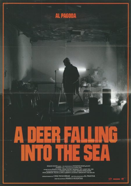 278-poster_A deer falling into the sea